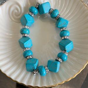 Jewelry - Turquoise Costume Bracelet